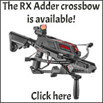 The RX Adder crossbow is available!