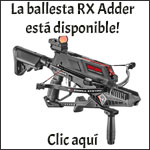 La ballesta RX Adder está disponible!